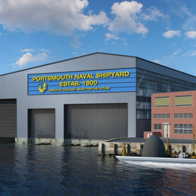portsmouth naval shipyard render